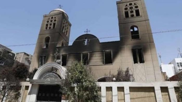 نكشف ما حدث فى 5 كنائس كان الاخوان الارهابيين كانوا قد دمروها فى اسيوط