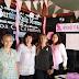 Biblioteca Ruiz Moreno se vistió de Rosa para concientizar sobre el cáncer de mama
