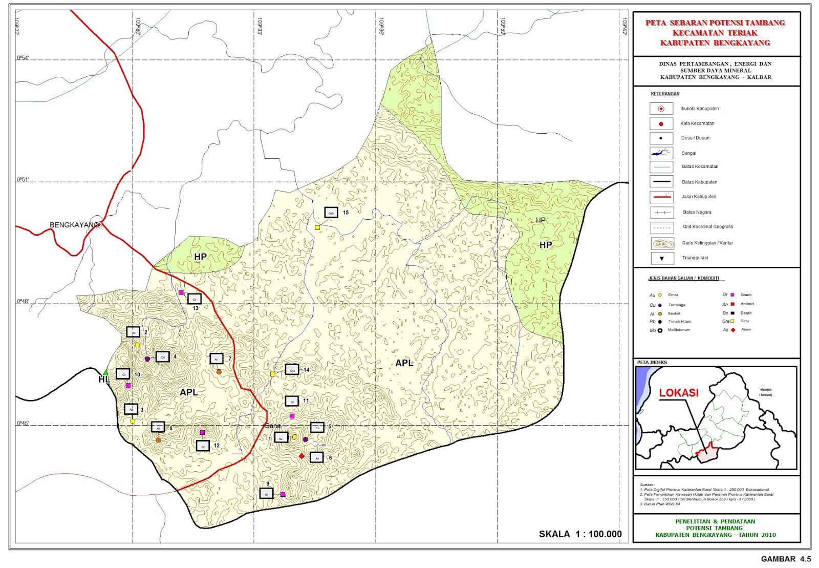 Potensi Mineral di Kabupaten Bengkayang: Penyelidikan ...