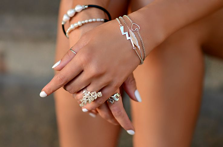 Balinese silver jewelry, Shelac nails, Tamara Chloé, TC Style Clues