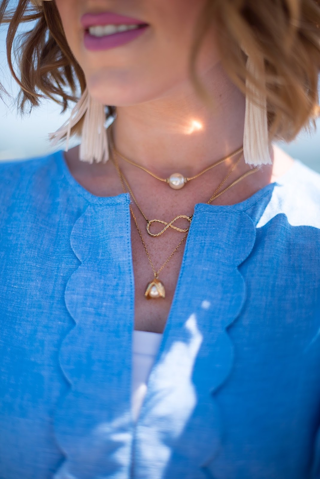 KJP Necklaces - Click through to see more on Something Delightful Blog!