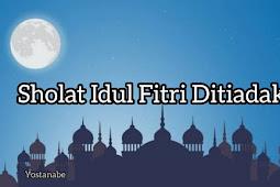 Edaran Kemeng Sholat Idul Fitri