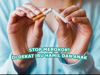 Bahaya asap rokok bagi ibu hamil