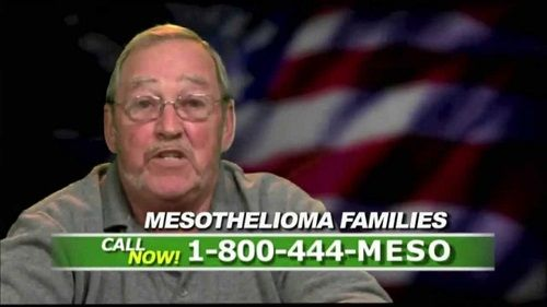 mesothelioma commercial funny