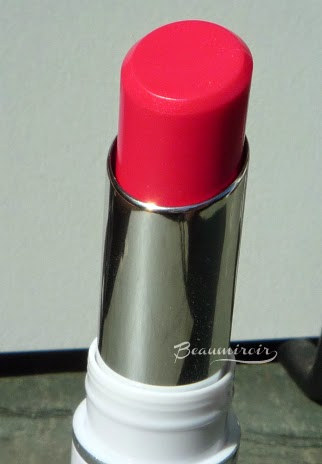 Lancome Shine Lover Vibrant Shine Lipstick French Sourire #340 closeup