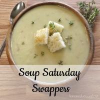 Veggies First Then Dessert #soupsaturdayswappers