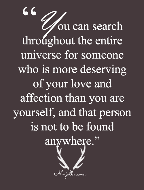 The Person Who Deserve You