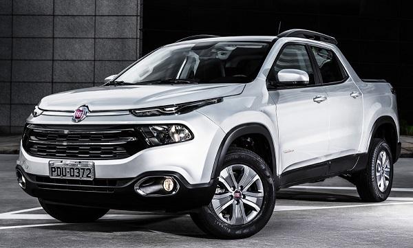 Ficha Técnica: Fiat Toro 1.8 Freedom (2019)