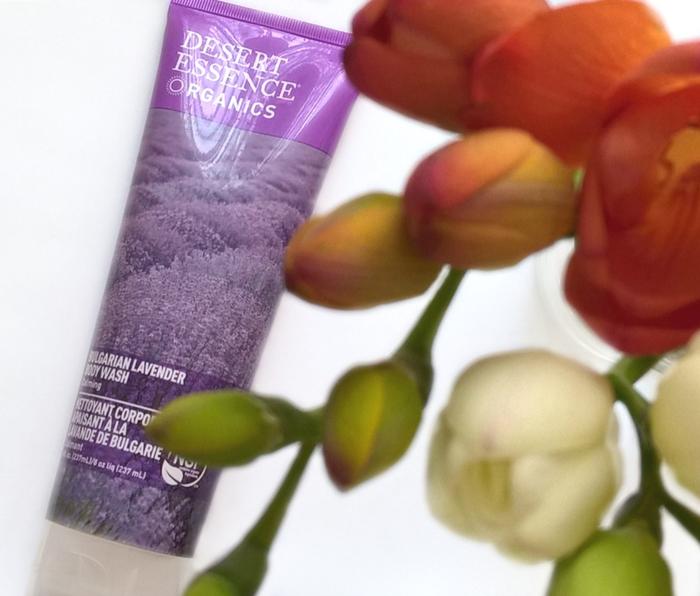Desert Essence, żel pod prysznic Bulgarian Lavender blog opinie