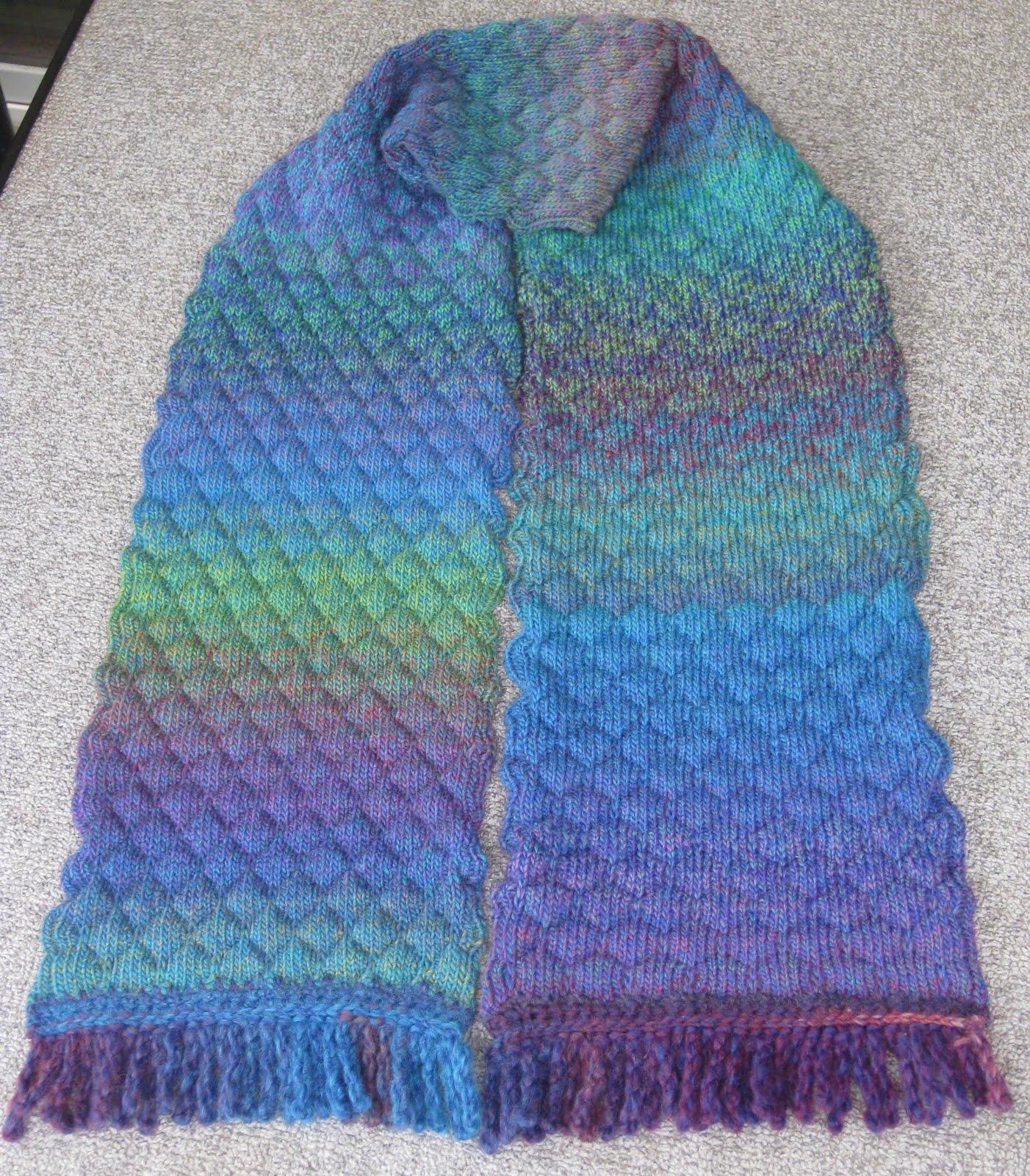 Scarf Machine Ravelry Machine Knit One Row Scarf Pattern By