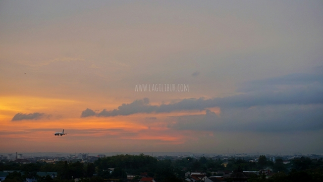 Sunset Rooftop  Satoria Hotel Jogja