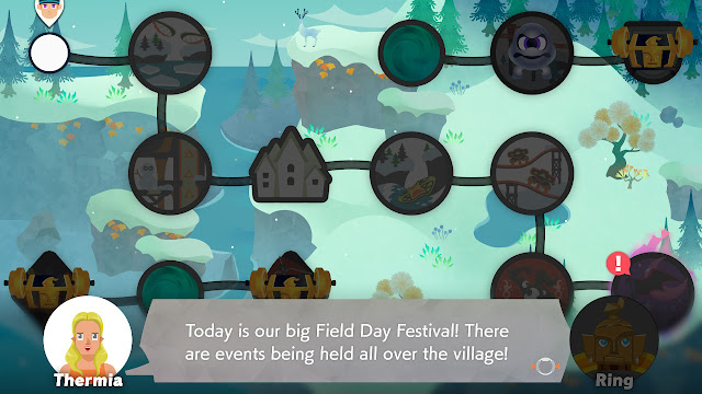 Ring Fit Adventure World 41 Thermia big Field Day Festival