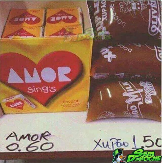 O amor não vale nada
