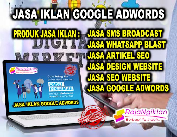 Jasa pasang iklan google AdWords situs judi togel online