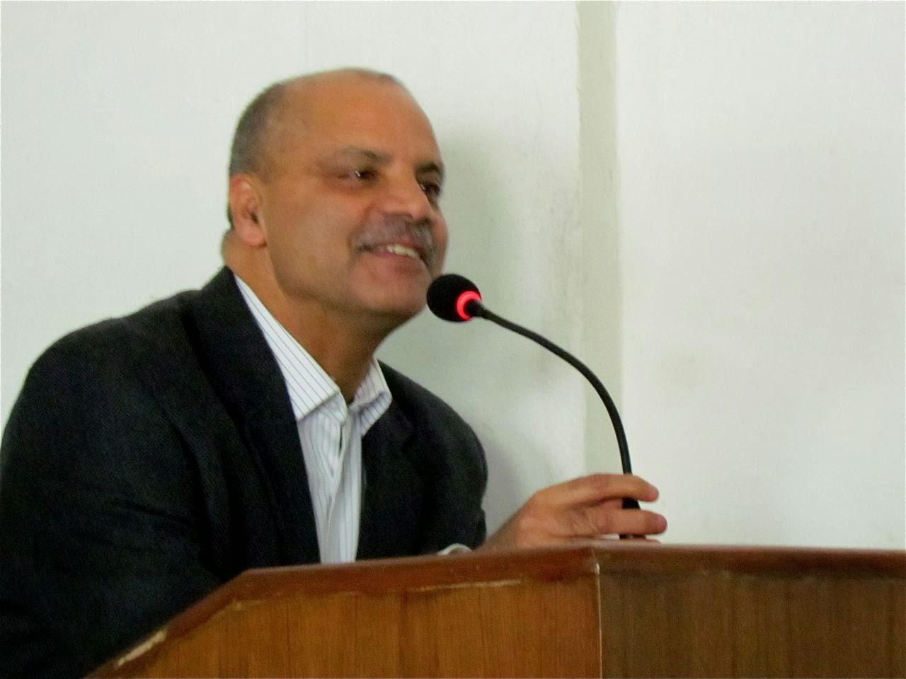 RC Kasthamandap President, Upendra Poudyal