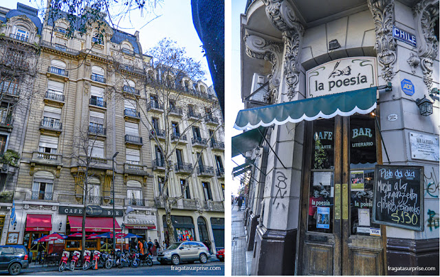 Buenos Aires: Bar los 36 Billares e Café La Poesia