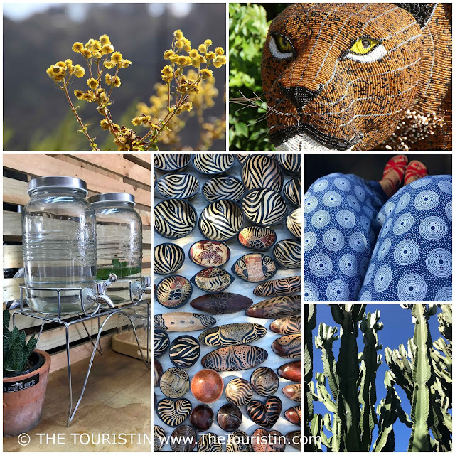 Art and design at the Mosaic Market in Sedgefield in South Africa.