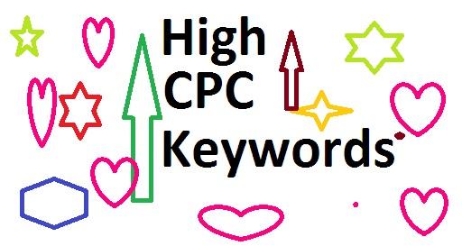 High CPC Keywords : Adsense Most Profitable Keyword