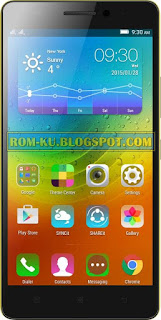 Firmware Lenovo K3 Note MT6752 Tested (Flash File)