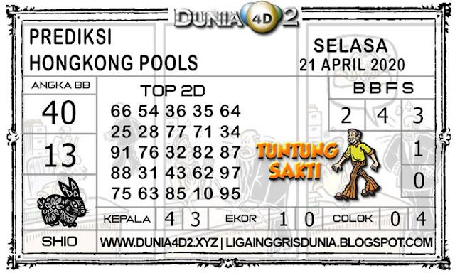 Prediksi Togel HONGKONG DUNIA4D2 21 APRIL 2020