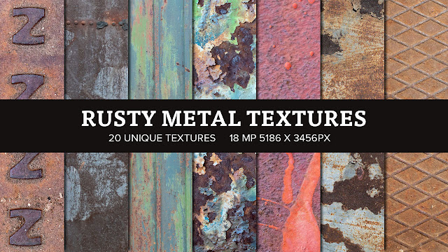 Rusty Metal Textures Available on Creative Cloud Exchange