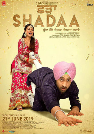 Shadaa 2019 Full Punjabi Movie Download HDRip 720p