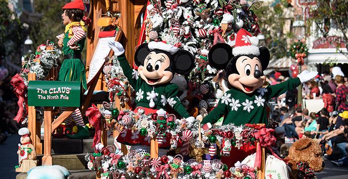 Disneyland en Navidad