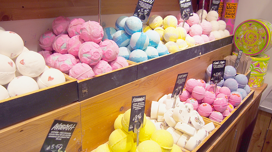 lush manchester store