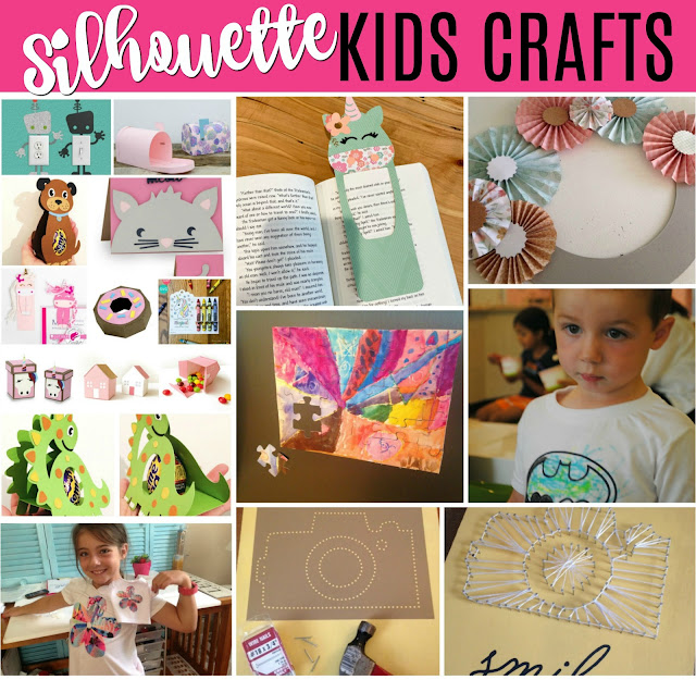 Silhouette 101, Silhouette America Blog, Kids Crafts, Kids, Silhouette for kids
