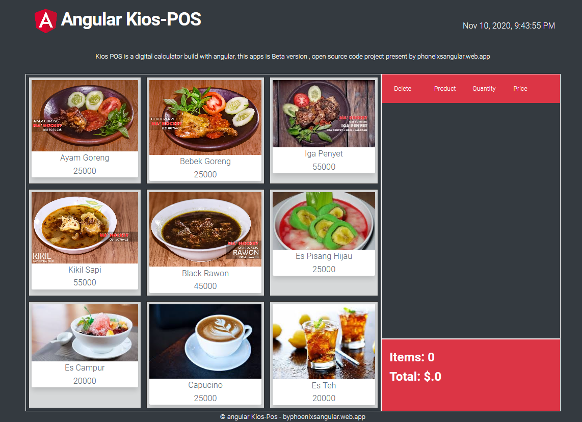 Free download angular pos open source code point of sale using angular