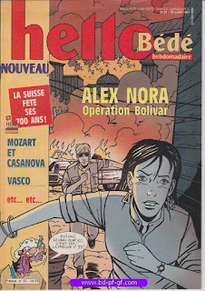 Hello-Bébé, numéro 31, 1991, Alex Nora, Opération Bolivar
