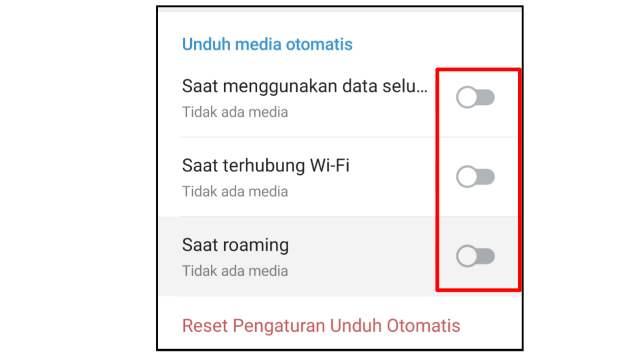 Cara Mematikan Unduh Otomatis di Telegram