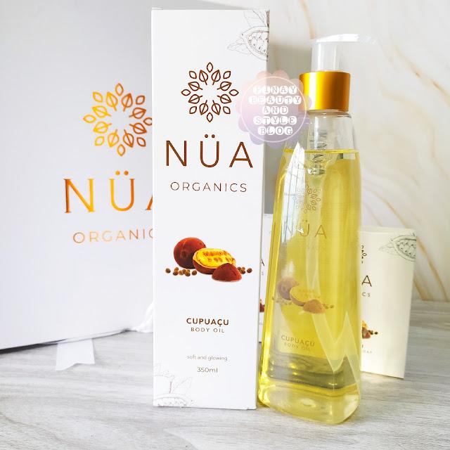 NUA Organics Body Oil Cupuacu