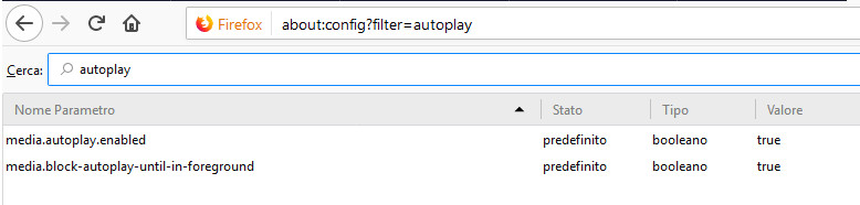 Autoplay video Firefox