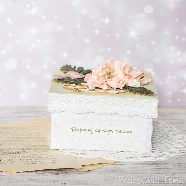 pudełko wdzięczności i radości
