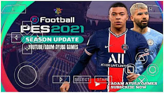 Download PES 2021 PPSSPP Android New Refree Face Update Graphics HD & Latest Transfer