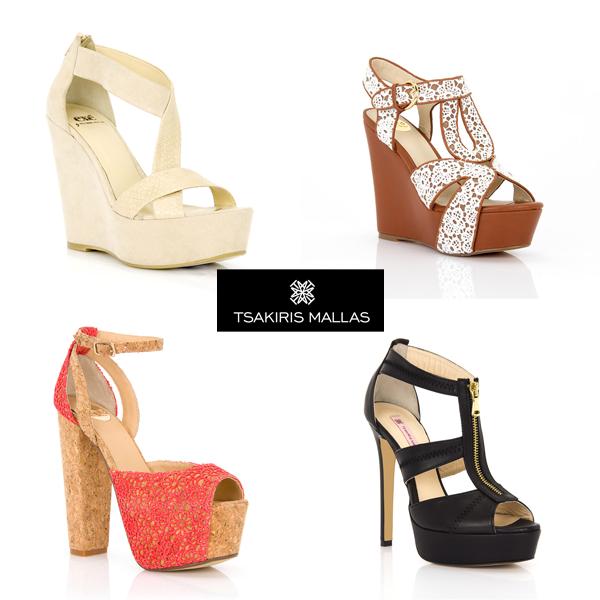adbd98fc297 Η αγαπημένη μας εταιρεία TSAKIRIS MALLAS παρουσιάζει τις νέες δημιουργίες  παπουτσιών για την Άνοιξη Καλοκαίρι 2014. Χρώμα, μοντέρνος σχεδιασμός, στυλ  και ...