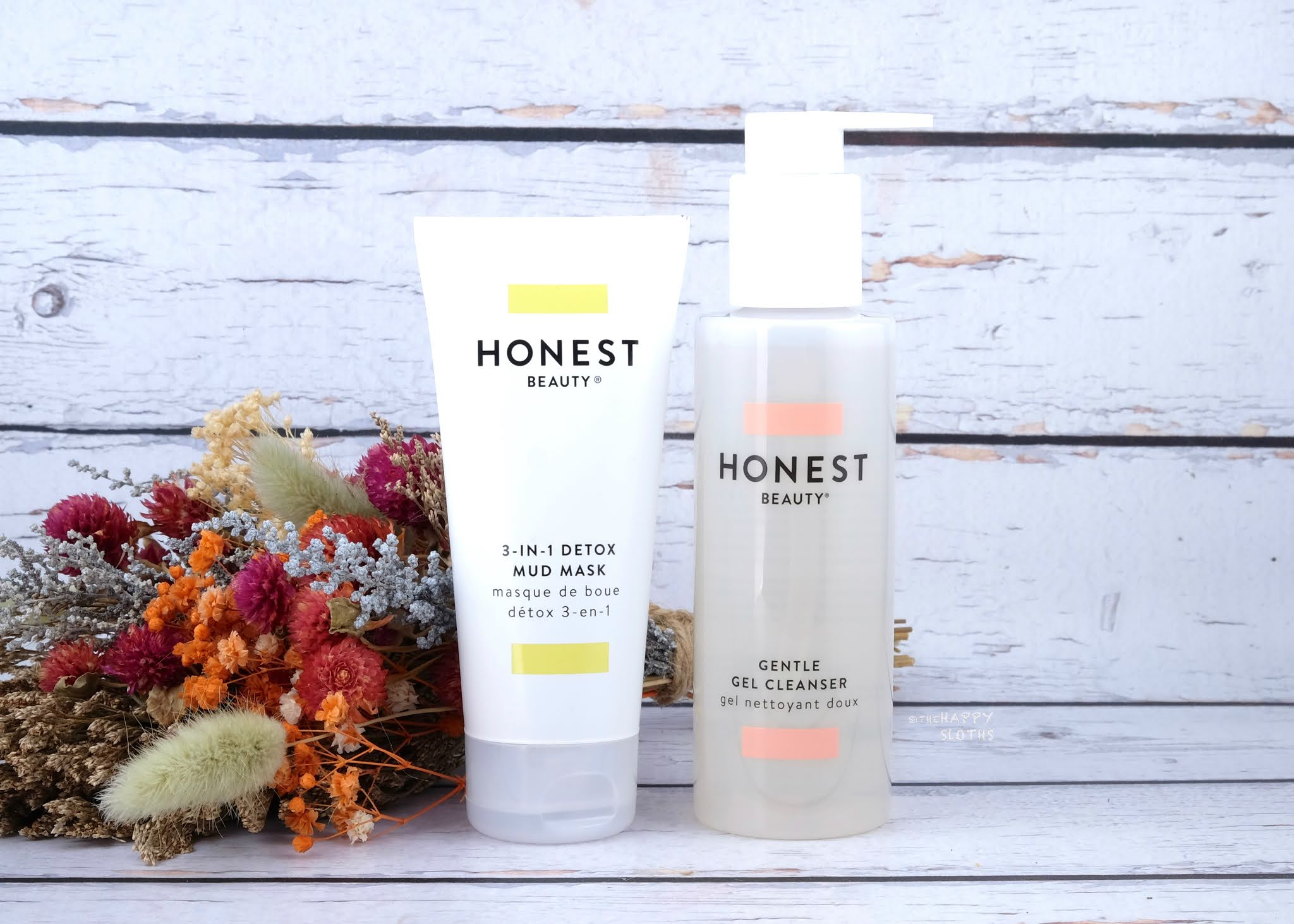 Honest Beauty | Gentle Gel Cleanser & 3-in-1 Detox Mud Mask: Review