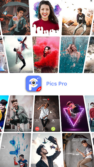 تحميل تطبيق PicsPro- Photo Lab Editor Drip Neon Effects APK