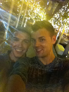 Me and Zach in Downtown Austin, Texas.