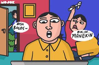 Canda dan Candu Kuliah Online