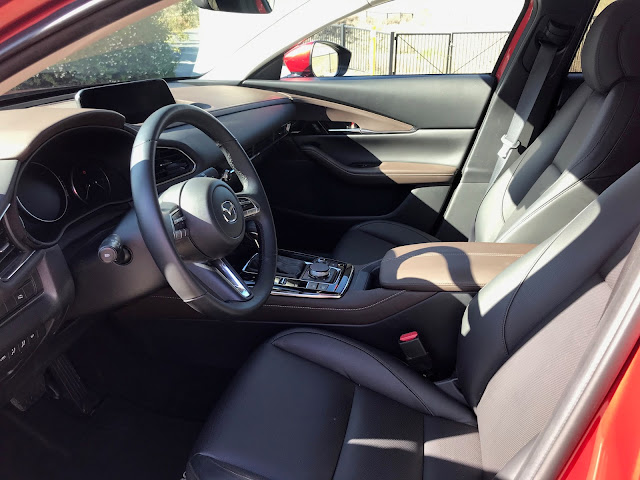 Front seats in 2020 Mazda CX-30 AWD Premium