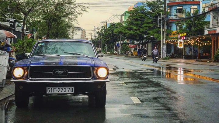 Ford Mustang 1967 Coupe rao giá hơn 1 tỉ đồng tại TP.HCM