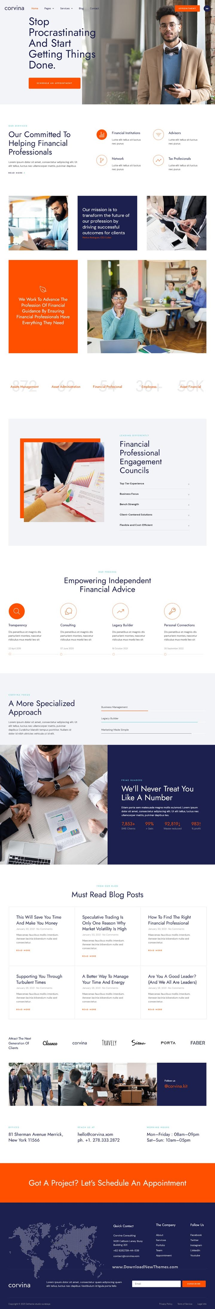 Business Coaching and Consulting Service Elementor Template Kit
