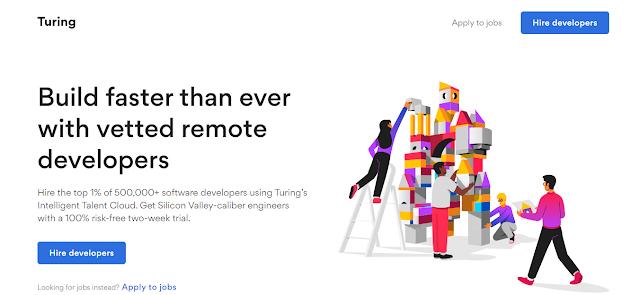 Turing remote jobs online, Work in USA Online