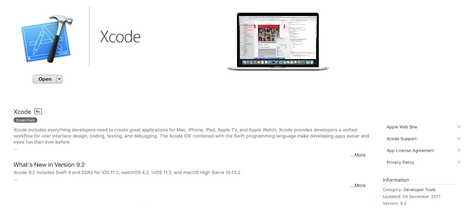 Dove scaricare le vecchie versioni di Xcode