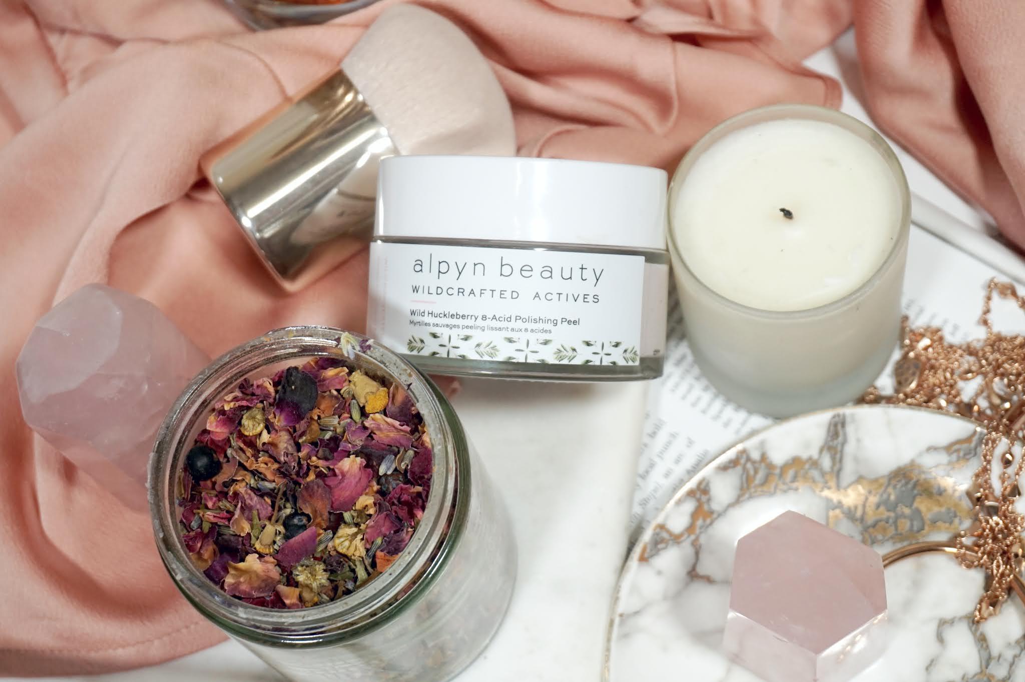 Alpyn Beauty Wild Huckleberry 8-Acid Polishing Peel Mask Review