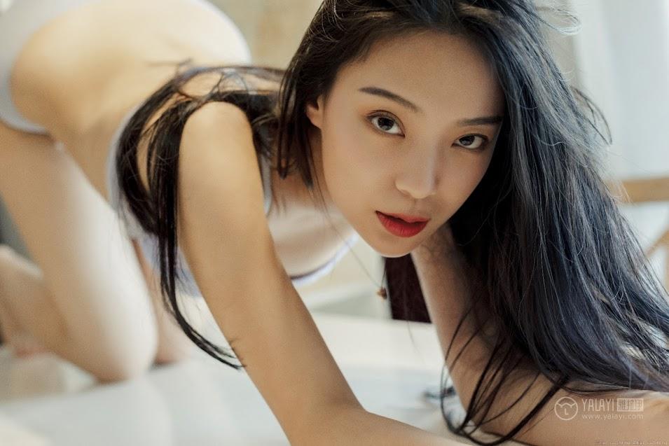 YALAYI雅拉伊 2019.06.30 No.324 银狐 楚薇