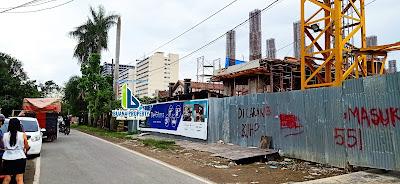 Lokasi Apartemen Murah 300 Jutaan De'Glass Residence Medan