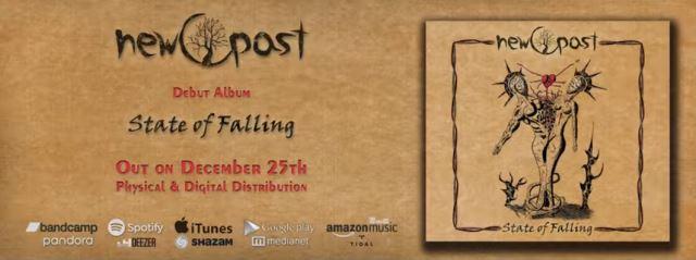 "NEW PAST: Κυκλοφόρησε το ντεμπούτο album τους ""State of Falling"""